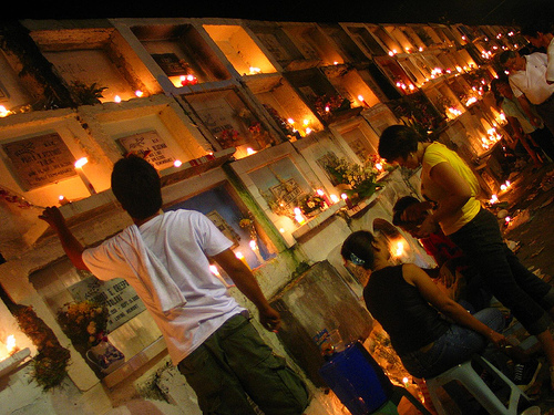 kalag-kalag - All Saint's Day in the Philippines - Philippine Photo Gallery